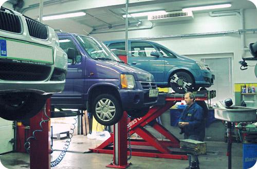 Avto servis za osebna in dostavna vozila